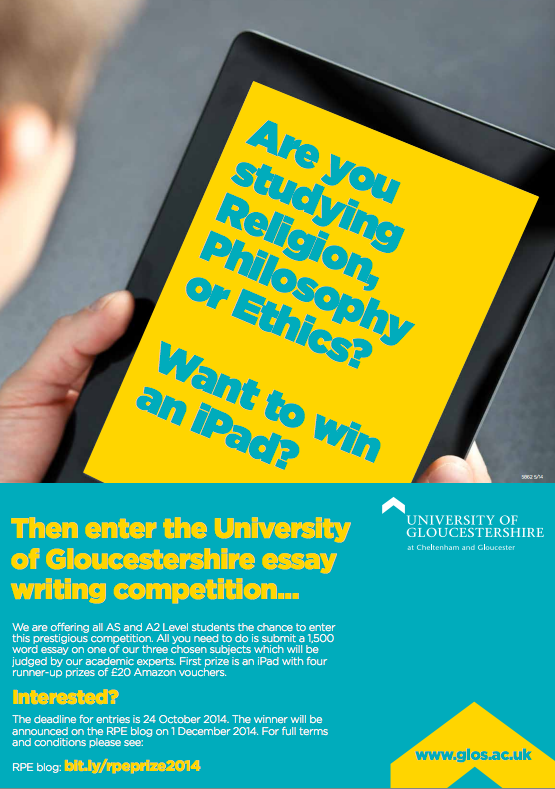 philosophy essay competition The newnham philosophy essay prize is designed to give students the opportunity to think and write about philosophy and philosophical matters in the broadest sense, while developing their independent study and writing skills.